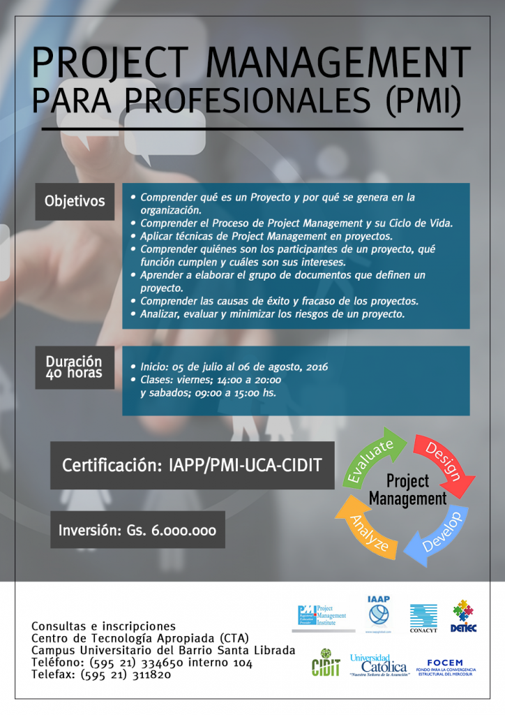 Project Management para Profesionales (PMI)